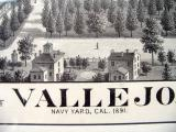 Vallejo map (1891) Title